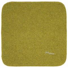Mufflon - Okke - Zitkussen maat 40 x 40 cm, kiwi /grijs