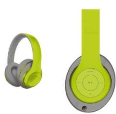 Groene Platinet FH0916GG headphones/headset Hoofdtelefoons