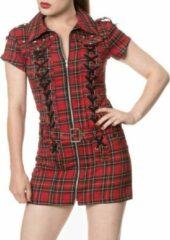 Banned Korte jurk -S- MOD Rood