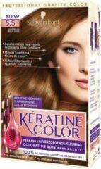 Keratine Kératine Color 5.5 Goudbruin - 1 stuk - Haarverf
