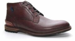 Bruine Floris van Bommel 20228 Cognac H-Wijdte Boots veter-boots