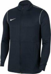Donkerblauwe Nike Dri-FIT Park Meisjes/Jongens Sportvest - Obsidian/White/White - Maat M