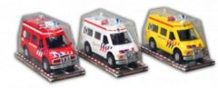 Witte Fun & Feest Party Gadgets Speelgoed politie wagen 26 cm