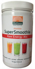Mattisson Supersmoothie Mix Energy Bio - 300 gram - Maaltijdvervanger