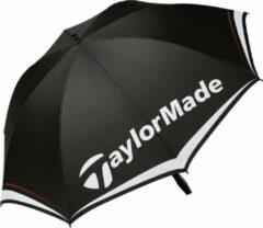 Taylormade 60 Single Canopy Golfparaplu - Zwart Wit Grijs