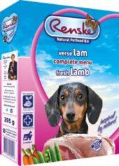 Renske Vers Lam en Rijst hondenvoer 1 tray (10 x 395 gram)