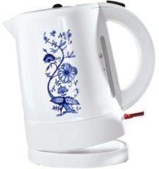 Wasserkocher mit Zwiebelmusterdesign efbe-Schott weiß-blau