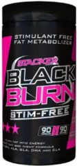 Stacker2 Black Burn Stim Free 90caps