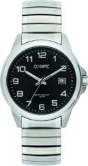 Olympic OL72HSS263 Horloge Phoenix staal zilverkleurig-zwart 38 mm