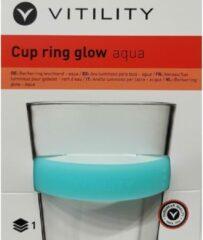 Vitility Cup ring glow aqua meer grip op je beker