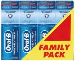 Oral-B Pro-Expert professionele bescherming multiverpakking tandpasta - 4 stuks