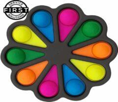 First Service&Solutions Simple dimple met Fat Brain Logo zwart