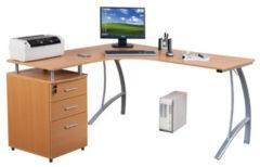 Hjh OFFICE Castor | 151x143 - Schreibtisch
