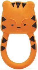 Lanco Toys Lanco Rubberen Bijtring Nalu de Tijger oranje
