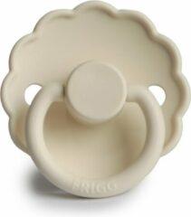 Creme witte Fopspeen - Frigg - Daisy - T1 0/6 maanden - Crème - cream - ivory