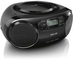 Zwarte Philips AZB500/12 draagbare radio/CD-speler