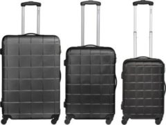 Packenger Koffer Bannisters Empire 3er Set in Schwarz