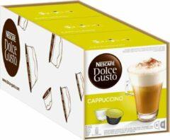 NESCAFÉ Dolce Gusto Nescafé Dolce Gusto Cappuccino Cups - 3 x 8 stuks