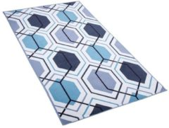 Beliani GIRESUN Vloerkleed Meerkleurig Polyester 80 x 150 cm