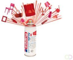 Edding 5200 permanent spray premium acrylverf verkeersrood mat RAL 3020