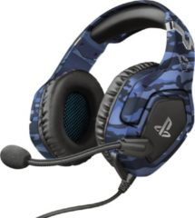 Trust GXT 488-B Forze - PS4 Official Licensed Game Headset - Camo Blauw