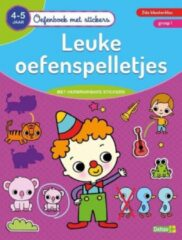 Deltas Oefenboek Met Stickers Leuke Oefenspelletjes (4-5 jaar)