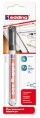 Edding edding 400 4-400-1-1001 Permanent marker Zwart Watervast: Ja
