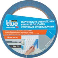 3M 2080 2080DABE24 Afplakband ScotchBlue Blauw (l x b) 41 m x 24 mm 1 rol/rollen