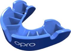 Lichtblauwe Opro sportbitje Self Fit GEN4 silver junior blauw/lichtblauw