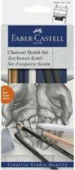 Faber-Castell Tekenen met houtskool set 7 delig