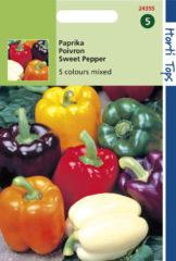 Merkloos / Sans marque Hortitops Zaden - Paprika 5 Kleuren