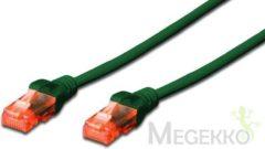 Groene ASSMANN Electronic Digitus DK-1617-050/G 5m Cat6 U/UTP (UTP) Groen netwerkkabel