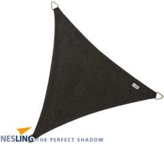 Zwarte Schaduwdoek - Nesling - Coolfit - Zwart - Driehoek 5,0 x 5,0 x 5,0 m