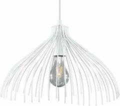 Witte Sollux Lighting Umb White - Hanglamp - E27
