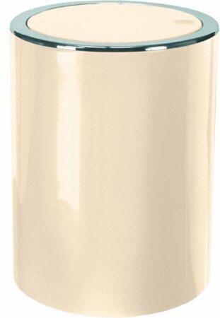 Afbeelding van Kleine Wolke - Afvalemmer Clap - Natural Beige - 5 Liter