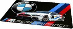 Blauwe Kimano Gaming muismat - BMW performance - 27 x 36