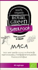 Groene Royal Green Royal groen Maca capsules (60 vegetarische capsules)