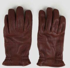 Bruine Hestra Sarna handschoenen van leer
