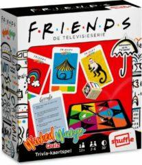 Shuffle Friends - Friends tv serie - gezelschapsspel - Wicked Wango Quiz - Bamboozled