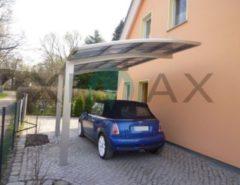 Ximax Portoforte 60 Carport Edelstahl-Look