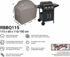 Taupe Raffles Covers Afdekhoes voor BBQ 115 x 60 H: 110/100 cm RBBQ115