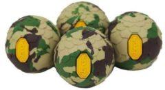 Helinox - Vibram Ball Feet Set maat 45 mm, olijfgroen/beige