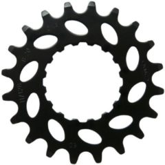Tandwiel kmc e-bike voor bosch 19t cro-mo staal zwart 19 - ZWART