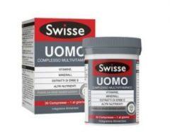 Swisse Uomo Complesso Multivitaminico Integratore Alimentare 60 Compresse