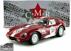 Rode Shelby Cobra Daytona Coupe #59 24h Le Mans 1965 - 1:18 - CMR Classic Model Replicars