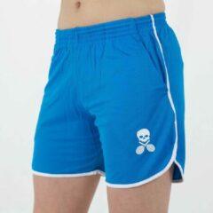 Blauwe Bones Sportswear Dames Short Blue maat XL