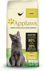 (8110658) Applaws gaanvrij Senior - Kip - Kattenvoer - 2 kg