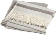 Damai Hamam plaid - 100% acryl - 130x170 cm - Grijs