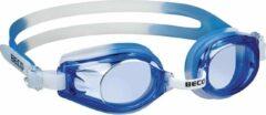 Zwarte Beco Zwembril Rimini Polycarbonaat Junior Blauw/wit