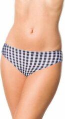 Belsira Bikinibroekje -2XL- 50191 Zwart/Wit